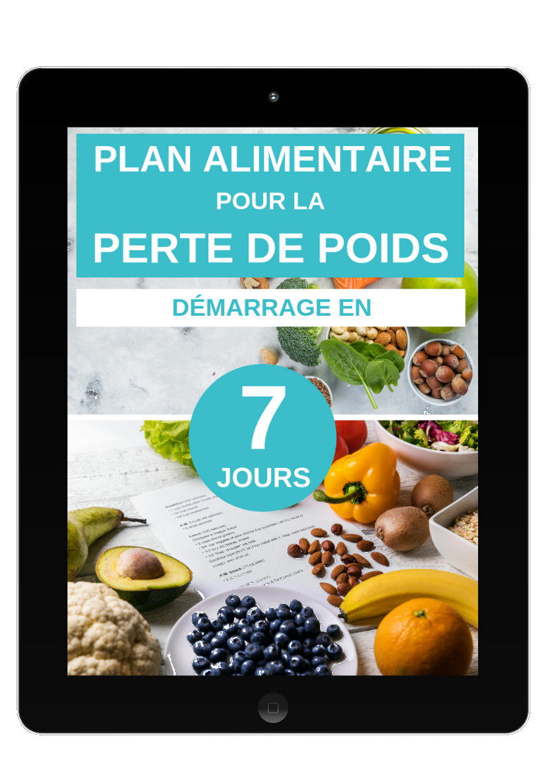 Plan alimentaire 7 jours