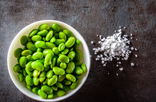 edamame collations healthy