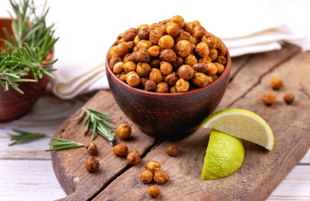 pois chiches grillés collations healthy